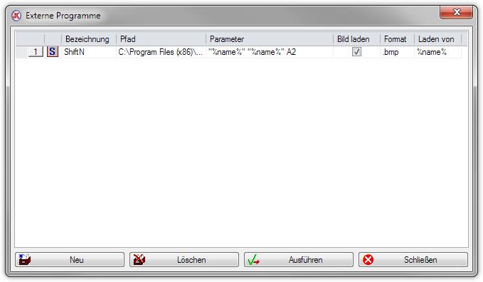 Externe Programme einbinden am Beispiel von ShiftN